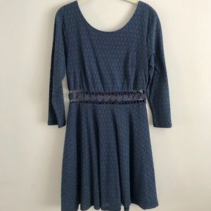NEW Urban Outfitters Dress (Navy Blue)